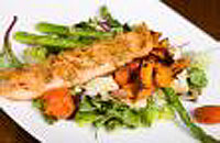 The Sexy Bathing Suit Dream: Pan-fried salmon