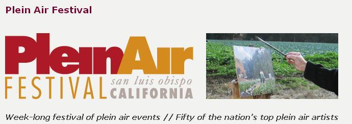San Luis Obispo plein air festival