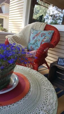 Living the Dream: Porch Makeover on a Budget: Porch Makeover After