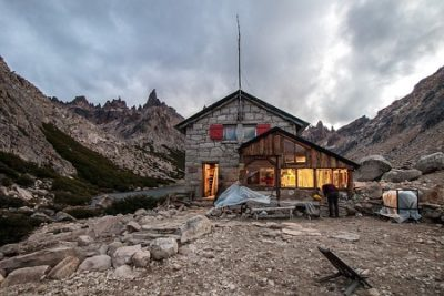 World Travel Dream: Refugio Frey Cerro Catedral Argentina Mountain by Claudio Bianchi