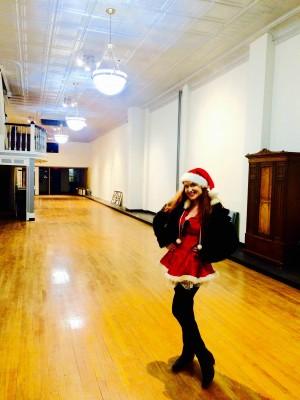 santa baby in my building