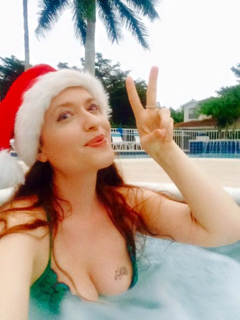 Finding Happiness In A White Sandy Beach Christmas