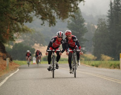 Sonoma County Bike Club - Dreamers in action