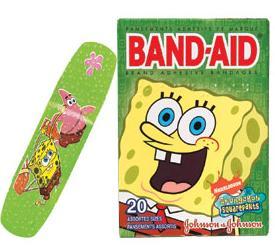 Forget Sugar: Get Out The Sponge Bob Bandaids