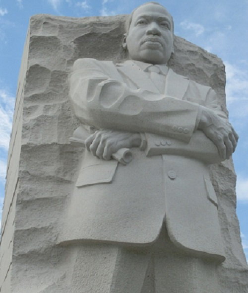 Finding Happiness in Spreading A Message of Love: The MLK Monument