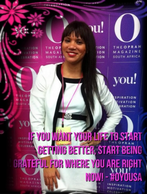 Thankful Thursday: At OYou in South Africa