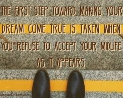 Take a Step to Make Your Midlife Dreams Come True