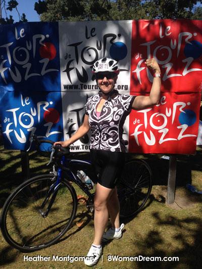 Heather Get Fit - Tour de Fuzz