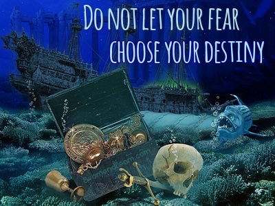Using Fear to Your Advantage: DO not let your fear choose your destiny quote