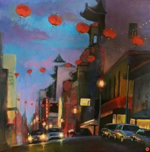 Be true to your artistic self - Wenday Brayton art - Chinatown