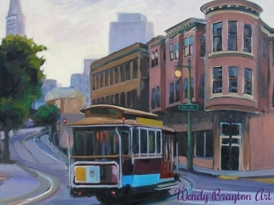 How To Remain True To Your Artistic Self - San Francisco Cable Car Wendy Brayton