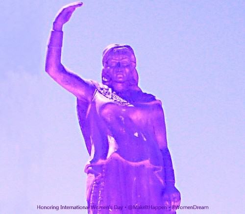 8 Women Memorials to Visit on International Women's Day: The Statue of Dyhia in Khenchela