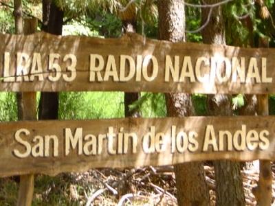 World Travel Dream: San Martin de Los Andes sign