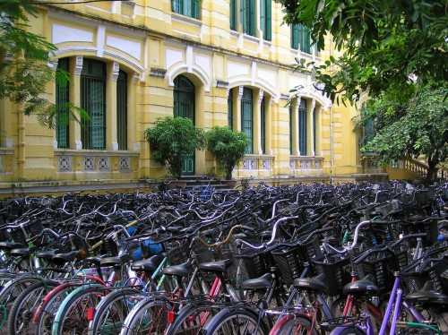 World Travel: Hanoi School Yard