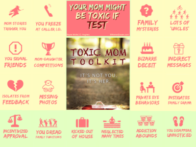 Dealing with a Toxic Mom? Here's Your Mother Might Be Toxic Test Infographic